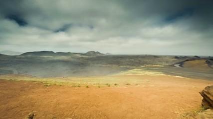 Timelapse of Timanfaya National Park