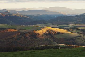 Spain, Navarra, Irati, View of landscape