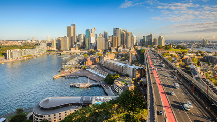 Australia, Sydney, View of downtown