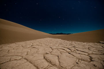 USA, California, Sand dunes in Death Valley