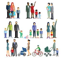 Eltern mit Kinder