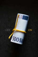 Roll of money switching