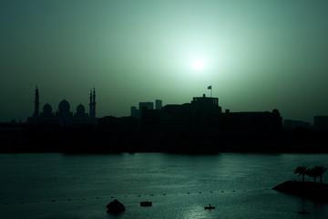 United Arab Emirates, Abu Dhab, Al Hosn, Sheikh Zayed Mosque