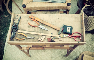 Tools for handicraft work