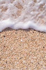 Antigua and Barbuda, Antigua, Beach Foam