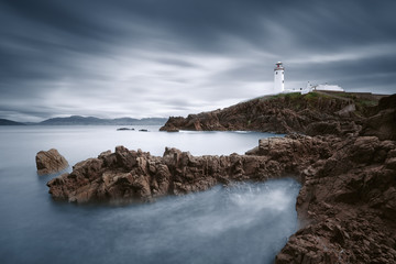 Ireland, Donegal, Fanad, Lighthouse