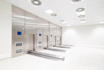 Germany, Empty clean room