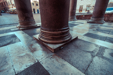 Italy, Rome, Column of Pantheon