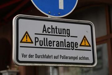 Polleranlage