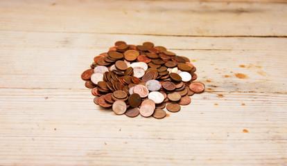 Copper Euro Cents