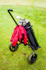 Wheeled golf bag
