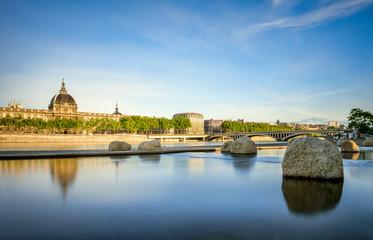 Lyon, quais du Rhône