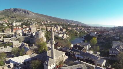 mostar old bridge, tourist destination in bosnia and herzegovina