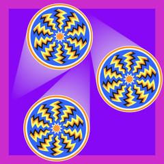 3D Spin Illusion