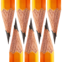 pattern of a sharpened pencil