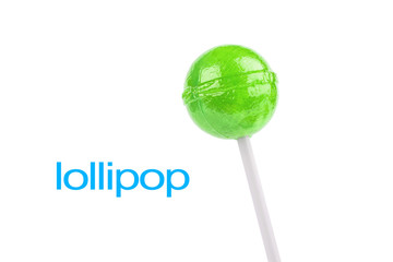 green lollipop