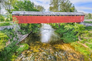 Covered Bridge at Scipio, Indiana