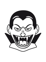 Vampire halloween creepy