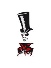 Vampire leeches halloween creepy invisible cloak