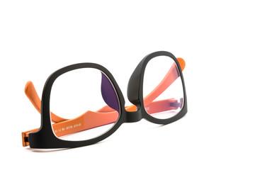 Isolated Upside Down Eye Glasses