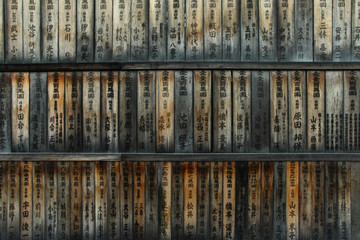 Ema - Votive plaque at Kyoto Japan