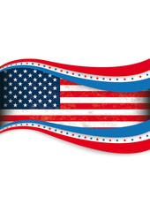 Big 4th July US-Flag Cover