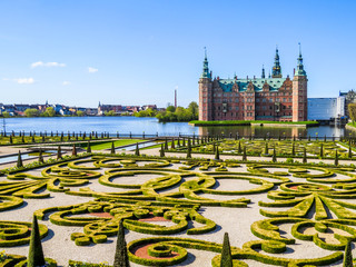 Park and Frederiksborg Slot, Denmark
