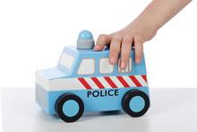 Voiture De Police Jouet En Bois Sticker