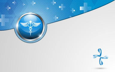 vector background health care concept template design