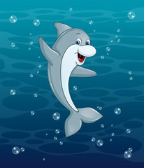 Delfin Unterwaser