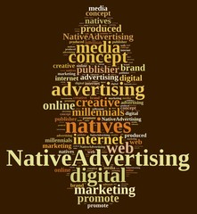 Native advertising.