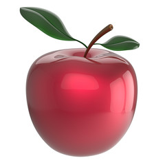 Apple ripe red fruit nutrition antioxidant fresh beauty icon