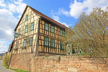 Historischer Gasthof in Hohenfelde (Thüringen)