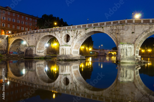 Roma Ponte Sisto Poster