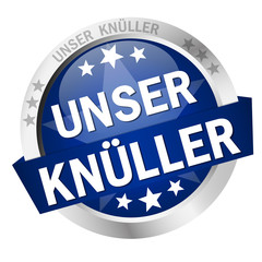 Button with Banner UNSER KNÜLLER
