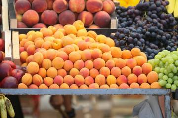 Fresh fruit on market