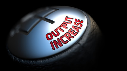 Output Increase on Car's Shift Knob.