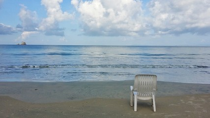 Chair on the beach