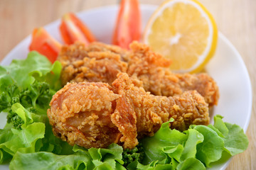 fried chicken meal