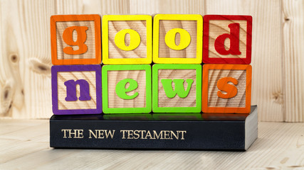The good news of the New Testament