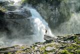 Fototapety Krimmler Wasserfall