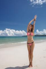 Girl on a beach