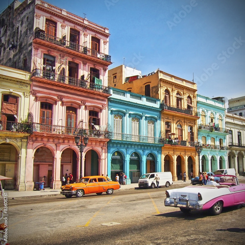 Poster Havana, Cuba