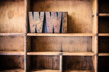 WWI Concept Wooden Letterpress Theme