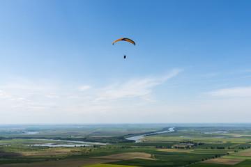 Paragliding in Dobrogea, Romania