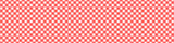 Fototapety Red Tablecloth Multiply Colors Pattern