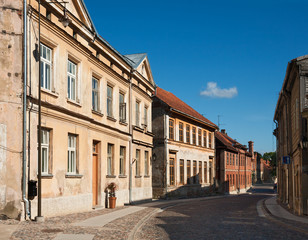 Old town of Kuldiga, Latvia