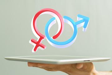 symbol male female