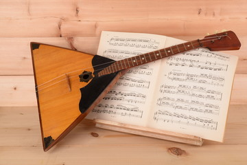 MUSICAL INSTRUMENT, GUITAR WITH THREE STRINGS