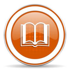 book orange icon